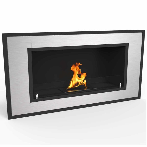 "Regal Flame Cynergy 36"" Ventless Bio Ethanol Wall Mounted Fireplace ER8013 1"
