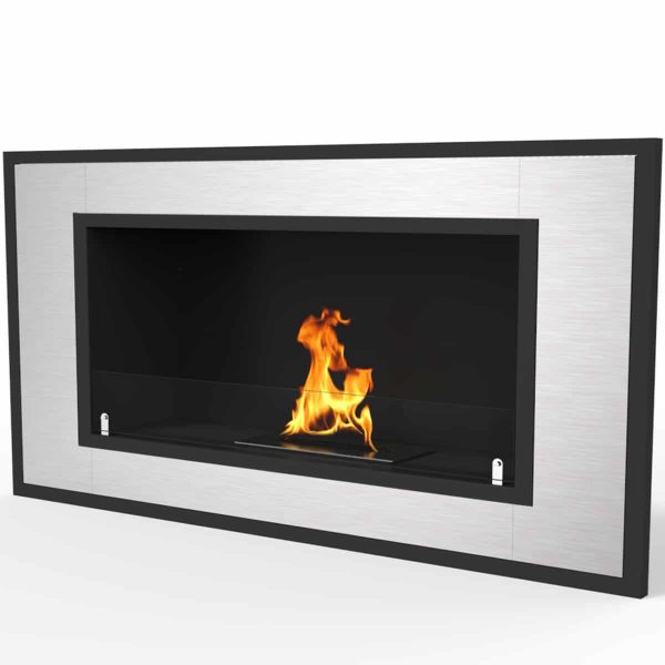 "Regal Flame Cynergy 36"" Ventless Bio Ethanol Wall Mounted Fireplace ER8013 2"