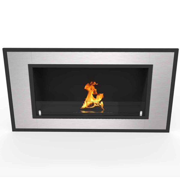 "Regal Flame Cynergy 36"" Ventless Bio Ethanol Wall Mounted Fireplace ER8013 3"