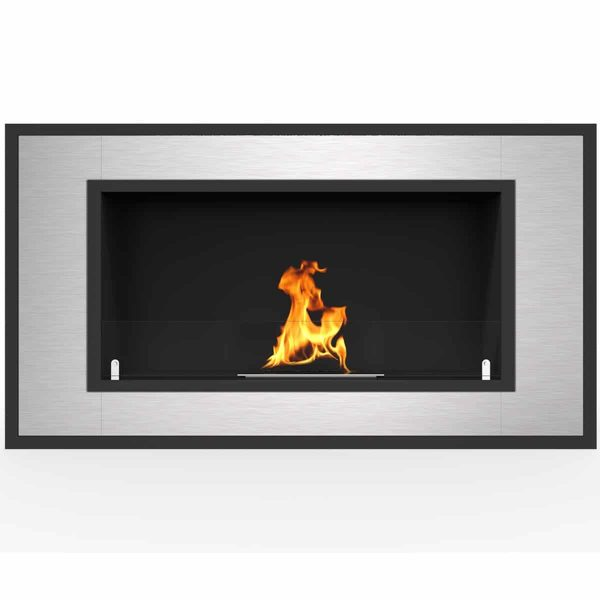 "Regal Flame Cynergy 36"" Ventless Bio Ethanol Wall Mounted Fireplace ER8013"