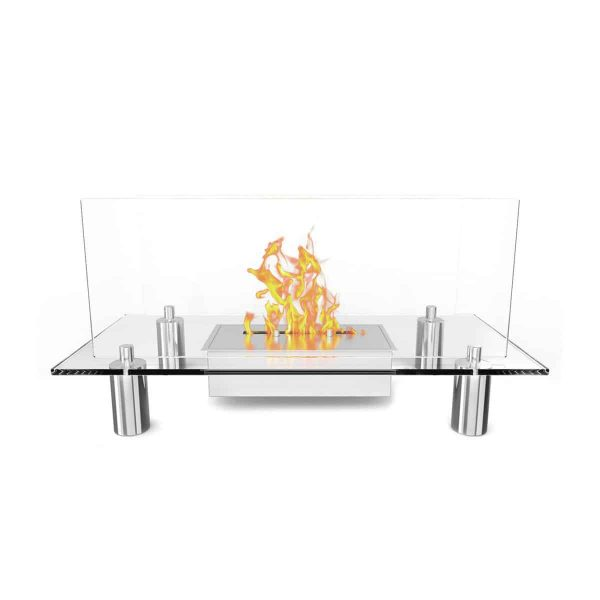 Regal Flame Delano Ventless Free Standing Ethanol Fireplace 1
