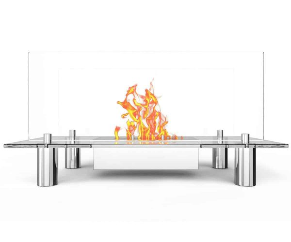 Regal Flame Delano Ventless Free Standing Ethanol Fireplace 2