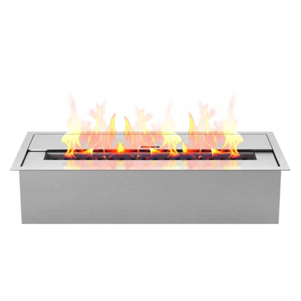 Regal Flame EBP4015 Pro 12 in. Bio Ethanol Fireplace Burner Insert - 1.5 Liter 1