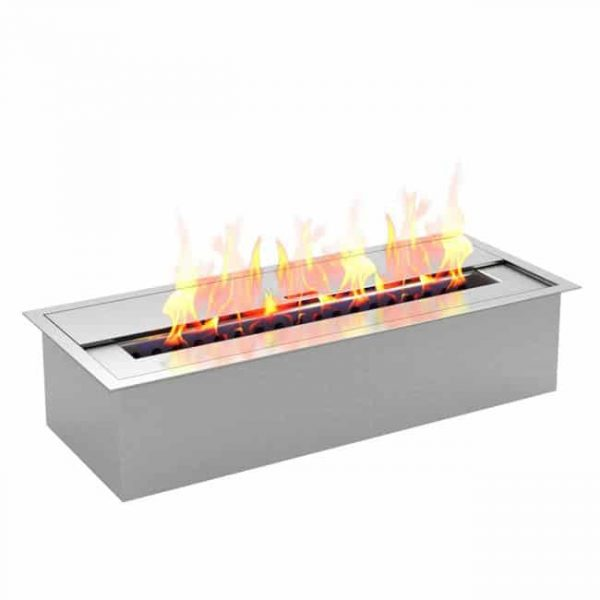 Regal Flame EBP4015 Pro 12 in. Bio Ethanol Fireplace Burner Insert - 1.5 Liter