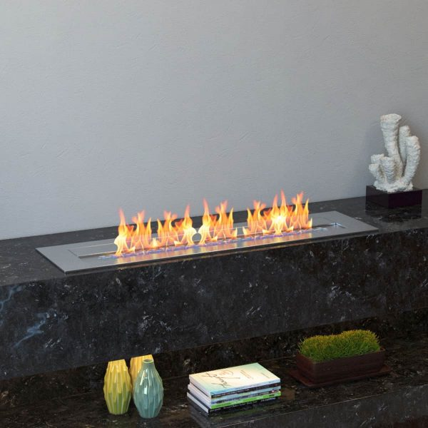 Regal Flame EBP4024-EF 24 in. Pro Bio Ethanol Fireplace Burner Insert - 4.8 Litre 4