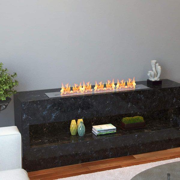 Regal Flame EBP4036-EF 36 in. Pro Bio Ethanol Fireplace Burner Insert - 7.4 Litre 3