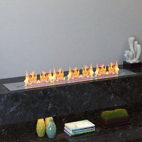 Regal Flame EBP4036-EF 36 in. Pro Bio Ethanol Fireplace Burner Insert - 7.4 Litre 4