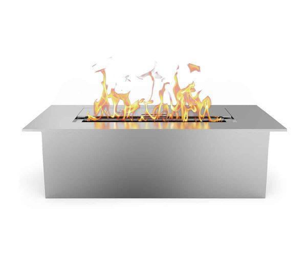 Regal Flame EBS5015-EF 12 in. Slim Bio Ethanol Fireplace Burner Insert - 1.5 Litre 1
