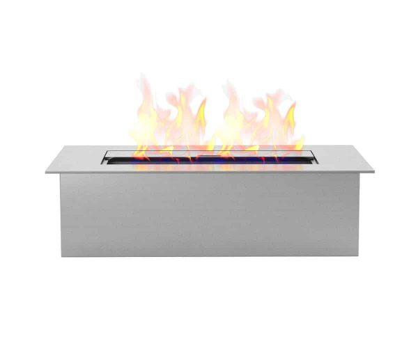 Regal Flame EBS5015-EF 12 in. Slim Bio Ethanol Fireplace Burner Insert - 1.5 Litre 2