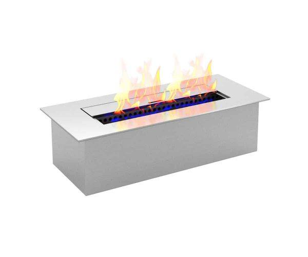 Regal Flame EBS5015-EF 12 in. Slim Bio Ethanol Fireplace Burner Insert - 1.5 Litre 3