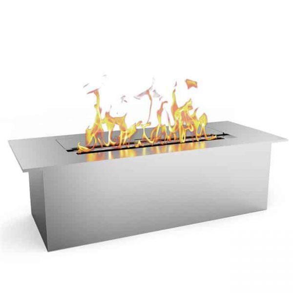 Regal Flame EBS5015-EF 12 in. Slim Bio Ethanol Fireplace Burner Insert - 1.5 Litre