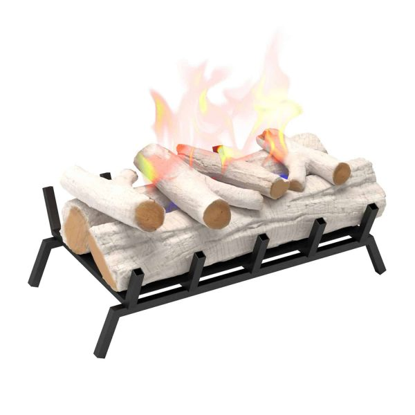 Regal Flame ECK20BRC24 24 in. Convert to Ethanol Fireplace Log Set with Burner Insert from Gel or Gas Logs, Birch - 24 x 10 x 15 in. 1