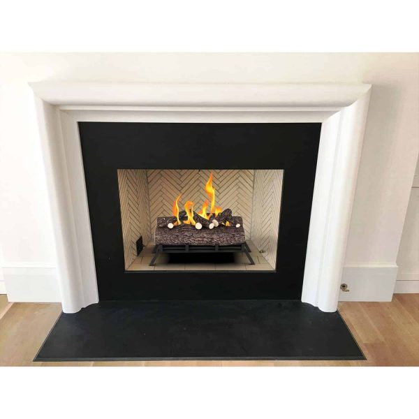 Regal Flame ECK20WD15 18 in. Ethanol Fireplace Grate Log Set with Burner Insert from Gel or Gas Logs, 18 x 4.7 x 13.4 in. 4