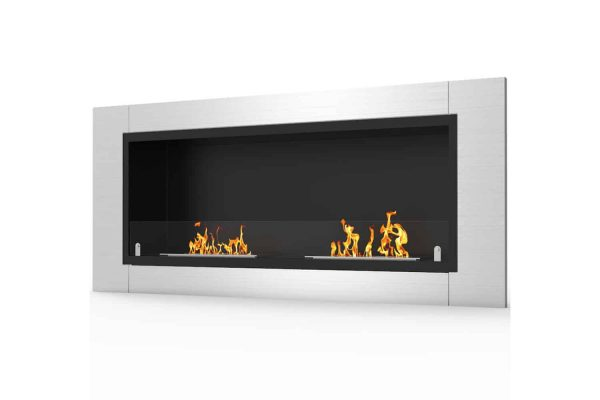 Regal Flame ER8001-EF 43 in. Fargo Ventless Built In Recessed Bio Ethanol Wall Mounted Fireplace 2