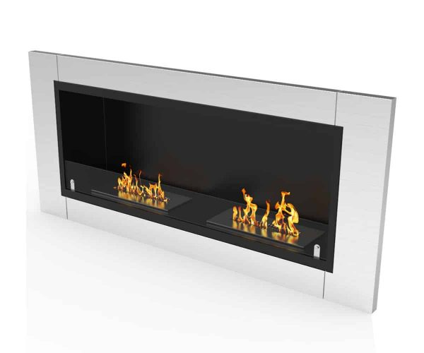Regal Flame ER8001-EF 43 in. Fargo Ventless Built In Recessed Bio Ethanol Wall Mounted Fireplace 3