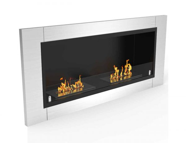 Regal Flame ER8001-EF 43 in. Fargo Ventless Built In Recessed Bio Ethanol Wall Mounted Fireplace 4
