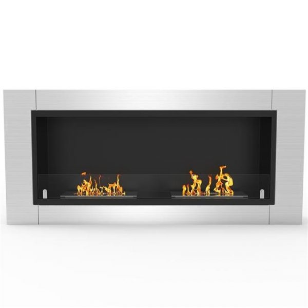 Regal Flame ER8001-EF 43 in. Fargo Ventless Built In Recessed Bio Ethanol Wall Mounted Fireplace