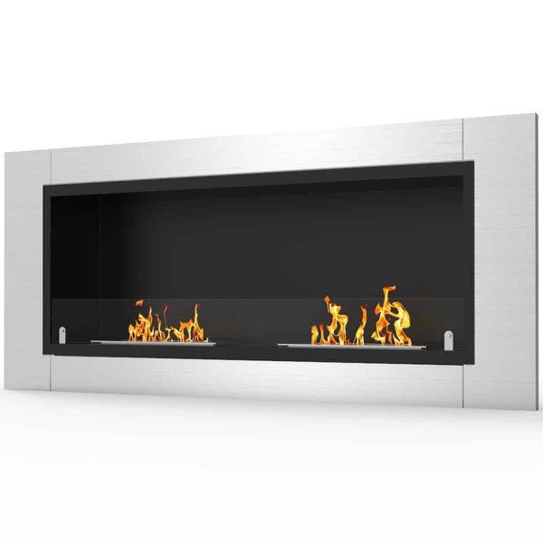 Regal Flame ER8001 Fargo 43in Ventless Bio Ethanol Wall Mounted Fireplace 1