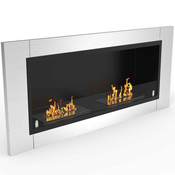 Regal Flame ER8001 Fargo 43in Ventless Bio Ethanol Wall Mounted Fireplace