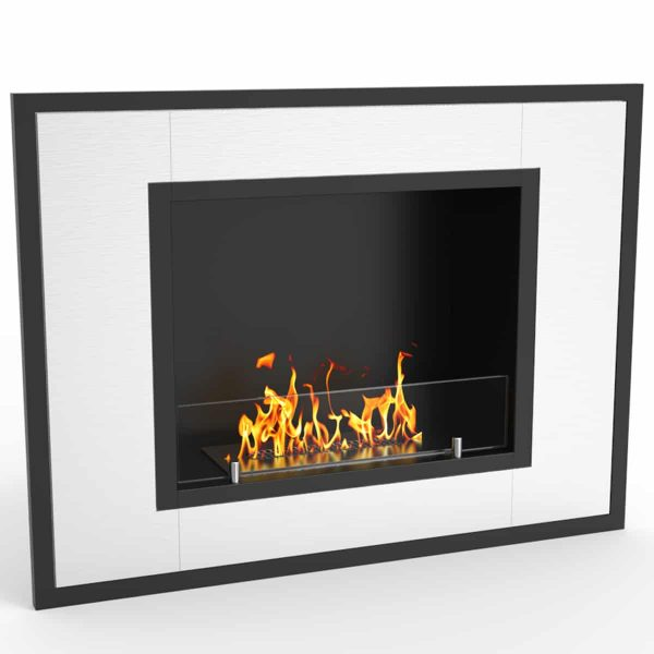 Regal Flame ER8004 Austin 32 in. Ventless Built-In Recessed Bio Ethanol Wall Mounted Fireplace 2