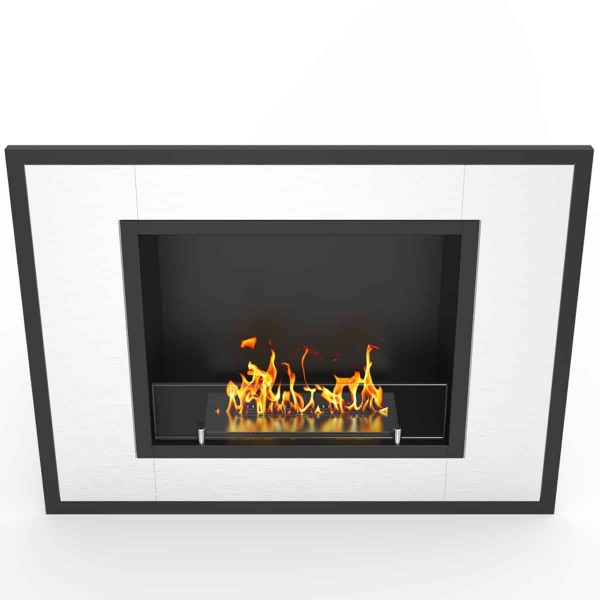Regal Flame ER8004 Austin 32 in. Ventless Built-In Recessed Bio Ethanol Wall Mounted Fireplace 3