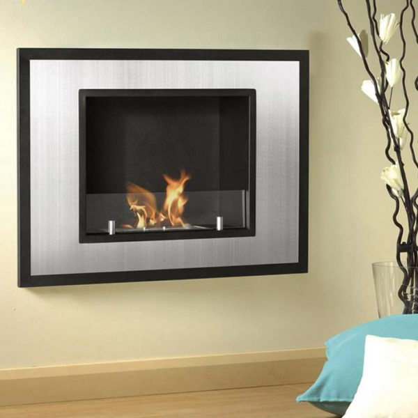 Regal Flame ER8004 Austin 32 in. Ventless Built-In Recessed Bio Ethanol Wall Mounted Fireplace 4