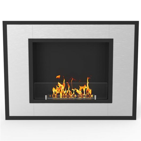 Regal Flame ER8004 Austin 32 in. Ventless Built-In Recessed Bio Ethanol Wall Mounted Fireplace