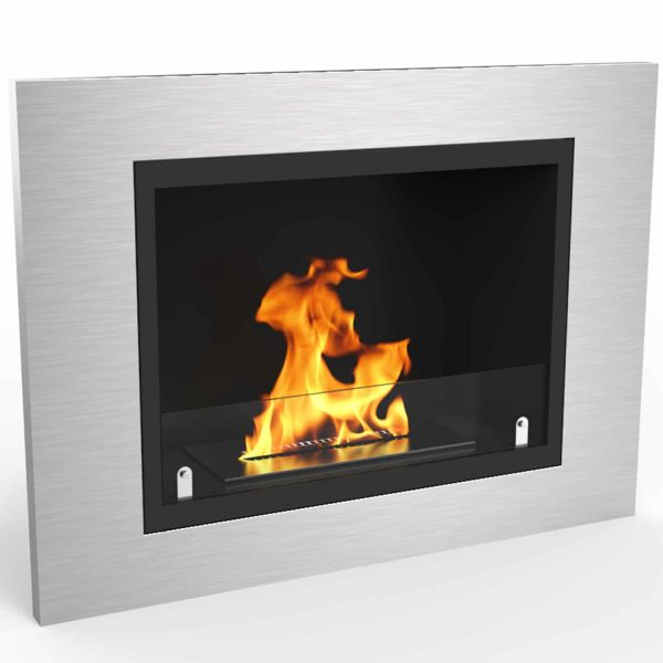 Regal Flame ER8018 Venice 32in Ventless Bio Ethanol Wall Mounted Fireplace