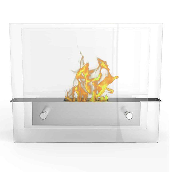 Regal Flame ET7009 Lyon Tabletop Portable Bio Ethanol Fireplace 1