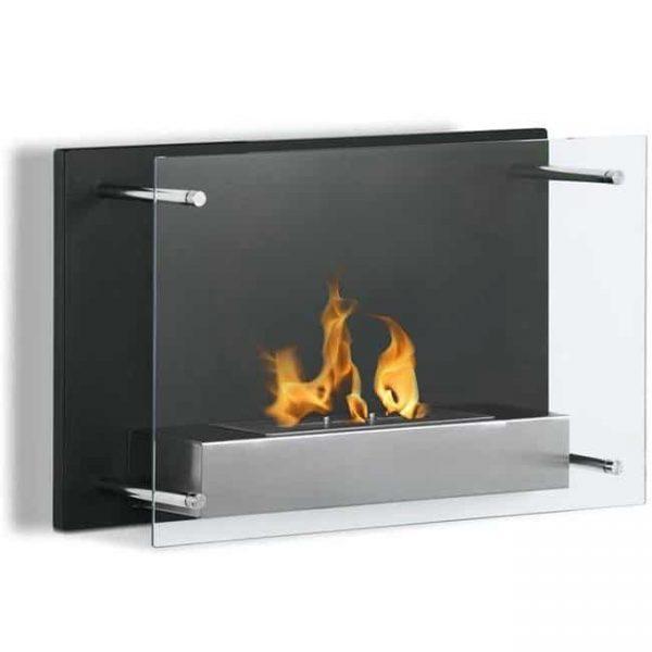 Regal Flame EW9002-MF 24 in. Milan Ventless Wall Mounted Bio Ethanol Fireplace