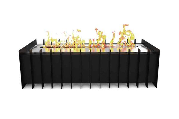 Regal Flame GRT1018-EF 18 in. Pro Ventless Bio Ethanol Fireplace Grate Burner Insert - 2.6 Litre 1
