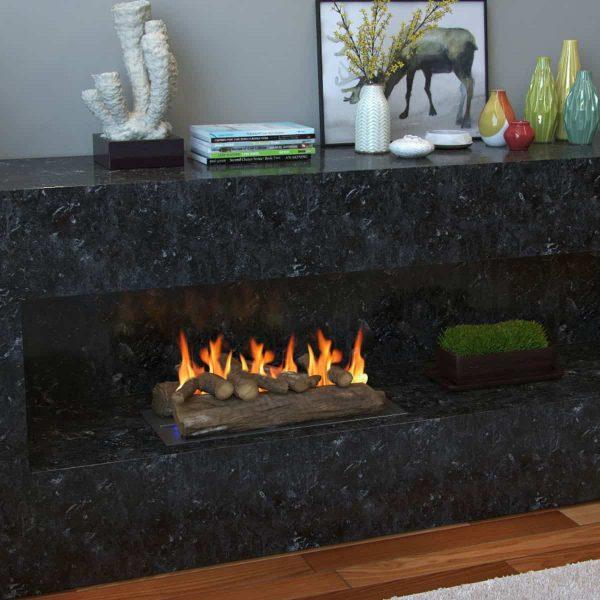 Regal Flame Gas Fireplace Decorative Logs 3