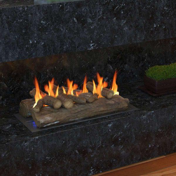 Regal Flame Gas Fireplace Decorative Logs 4
