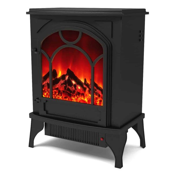 Regal Flame LW4204 Aries Electric Free Standing Portable Space Heater Stove 1