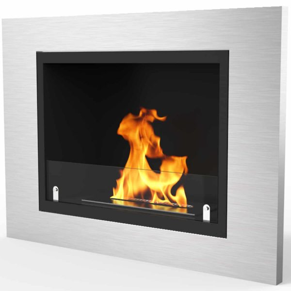 Regal Flame Venice 32 Inch Ventless Built In Recessed Bio Ethanol Wall Mounted Fireplace 1