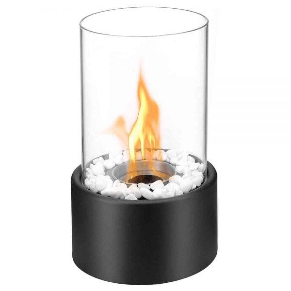 Regal Flame Venice 32 Inch Ventless Built In Recessed Bio Ethanol Wall Mounted Fireplace
