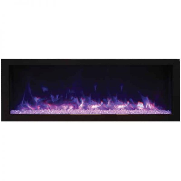 "Remii 45"" DEEP Indoor or Outdoor Electric Fireplace 2"