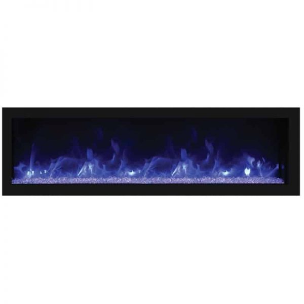 "Remii 45"" DEEP Indoor or Outdoor Electric Fireplace 3"