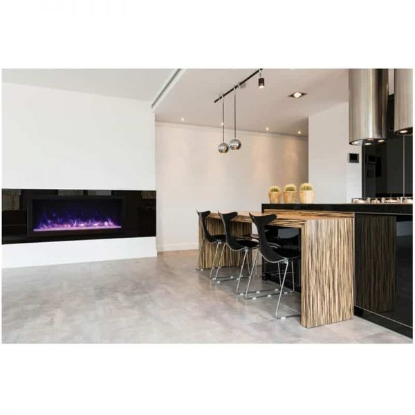 "Remii 45"" DEEP Indoor or Outdoor Electric Fireplace"