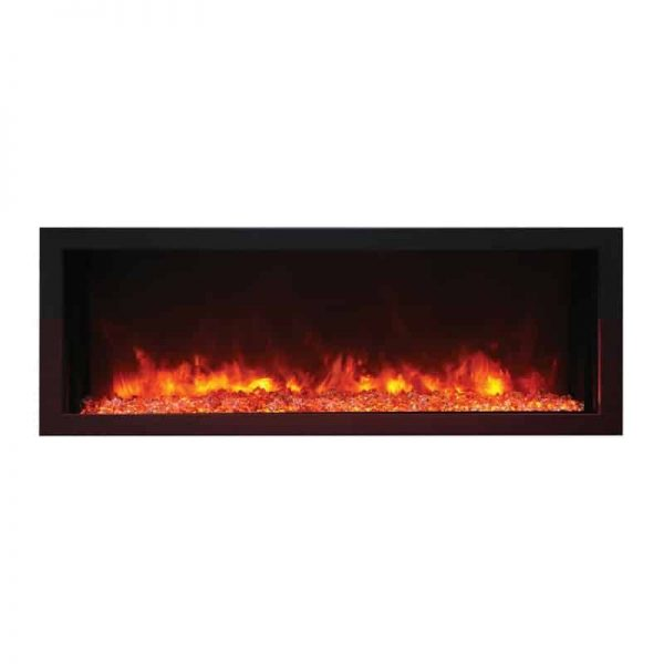 "Remii 45"" Extra Slim Indoor or Outdoor Electric Fireplace 2"