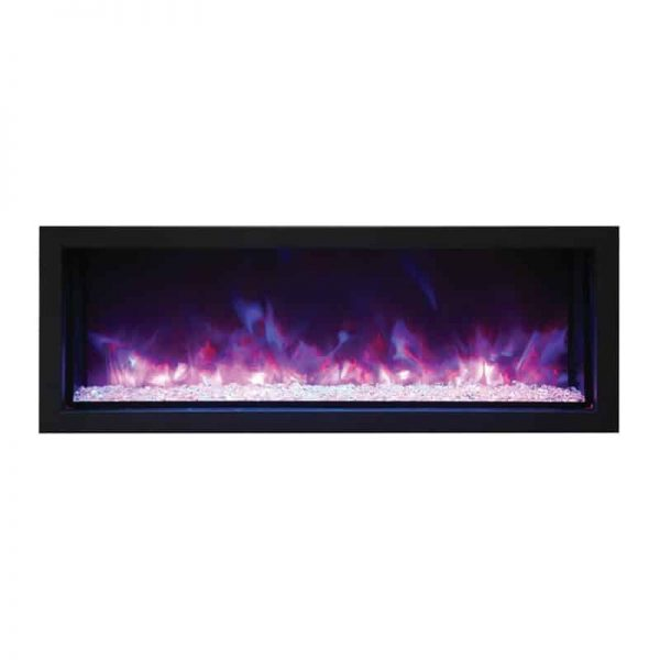 "Remii 45"" Extra Slim Indoor or Outdoor Electric Fireplace 3"