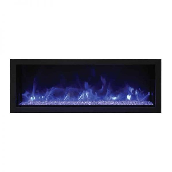 "Remii 45"" Extra Slim Indoor or Outdoor Electric Fireplace 4"