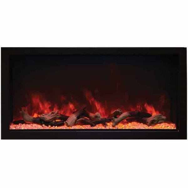 "Remii 45"" Extra Tall Indoor or Outdoor Electric Fireplace 2"