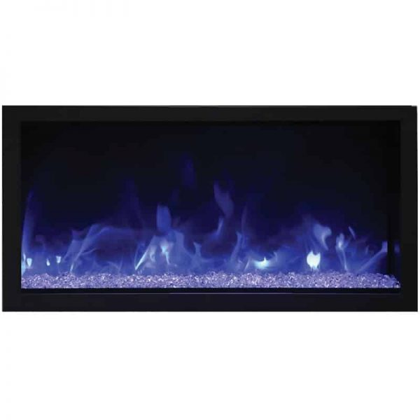 "Remii 45"" Extra Tall Indoor or Outdoor Electric Fireplace 3"