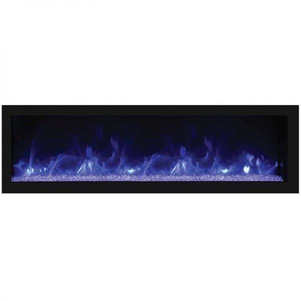 "Remii 55"" DEEP Indoor or Outdoor Electric Fireplace 2"