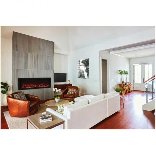"Remii 55"" DEEP Indoor or Outdoor Electric Fireplace"