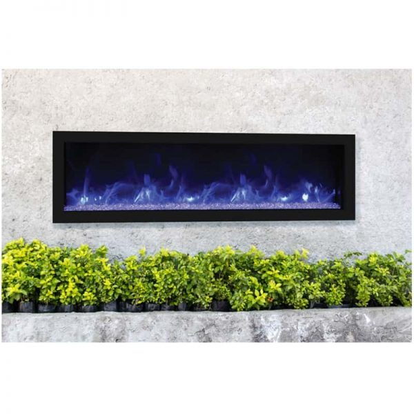 "Remii 65"" DEEP Indoor or Outdoor Electric Fireplace 1"