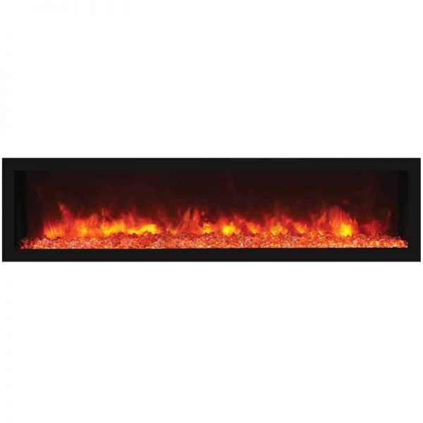"Remii 65"" DEEP Indoor or Outdoor Electric Fireplace 3"