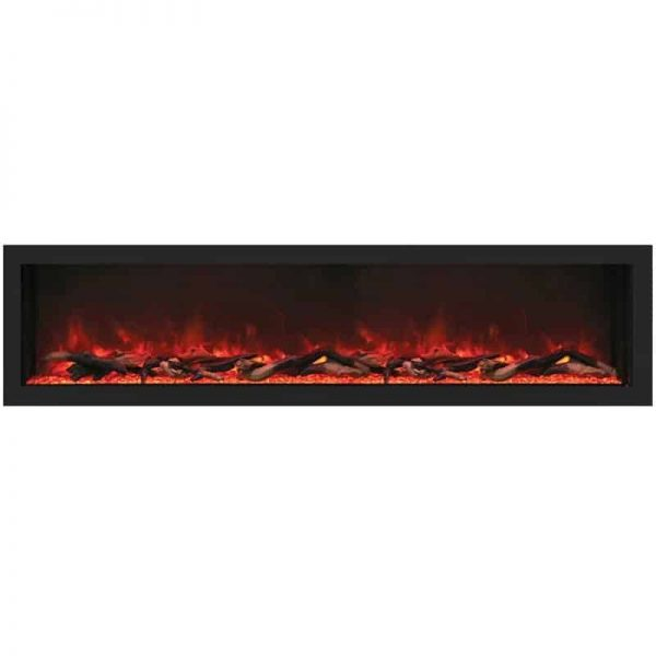 "Remii 65"" DEEP Indoor or Outdoor Electric Fireplace"