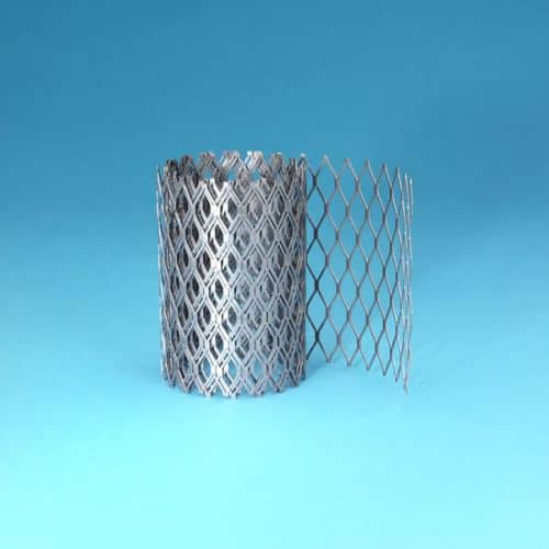 """Roll of 8"""" x 96"""" Stainless Steel 3/4"""" Mesh"""